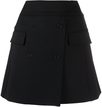 P.A.R.O.S.H. Double Breasted Fitted Skirt