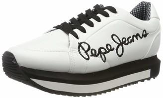 Pepe Jeans London Women's Zion Smart Low-Top Sneakers