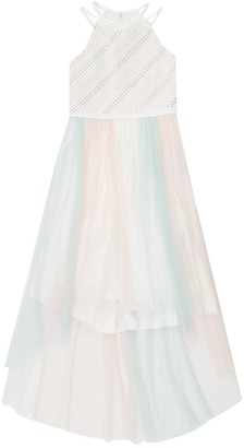Speechless Girls 7-16 Rainbow Tulle High-Low Dress