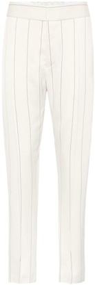 Haider Ackermann Striped satin trousers