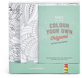 Marks And Spencer Marks And Spencer Colour Your Own Origami
