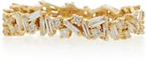 Suzanne Kalan 18K Gold Diamond Ring