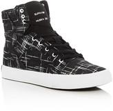 Supra Boys' Skytop Metallic Pattern High Top Sneakers