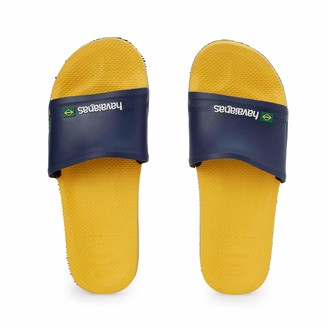 Havaianas Unisex Adult's Slide Brasil Flip Flops