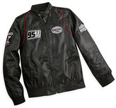 Disney Lightning McQueen Members Only Jacket for Men - Black