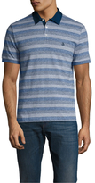 Original Penguin Short Sleeve Lawn Collar Heritage Slim Fit Polo Shirt