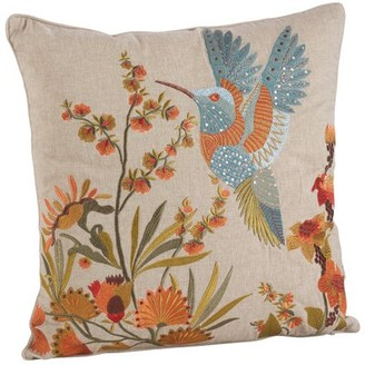 "Ophelia & Co. Stevenage Cotton Feathers Floral 18"" Throw Pillow"