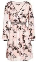 Sam Edelman Print Babydoll Dress