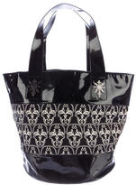 Thomas Wylde Patent Leather-Trimmed Tote