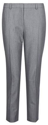 Dorothy Perkins Womens Dp Petite Dark Grey Ankle Grazer Trousers, Grey