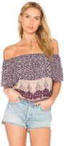 Nightcap Clothing Topanga Top in Purple. - size 1 (also in 3)