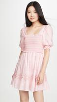 Jonathan Simkhai Athena Floral Smocked Dress