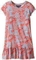 Polo Ralph Lauren Jersey Paisley Dress (Little Kids)