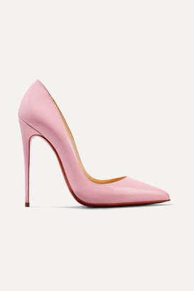 Christian Louboutin So Kate 120 Patent-leather Pumps - Baby pink