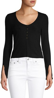 Project Social T Ribbed Pullover Top