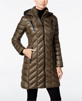 Calvin Klein Chevron-Quilted Packable Puffer Coat