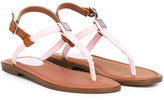 Ralph Lauren thong sandals - kids - rubber - 30
