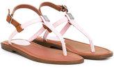 Ralph Lauren thong sandals - kids - rubber - 31