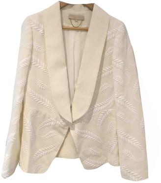 Vanessa Bruno Ecru Jacket for Women