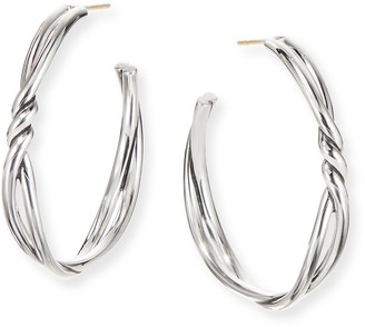 David Yurman Continuance Large Hoop Earrings