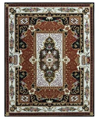 Fleur De Lis Living Chatmon Floral Handmade Tufted Wool Linen Area Rug Rug Size Rectangle 8 X 10 Shopstyle