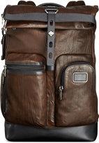 Tumi Alpha Bravo Luke Roll-Top Leather Backpack