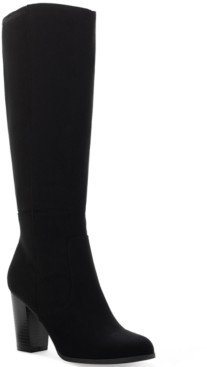 Style&Co. Style & Co Addyy Extra Wide-Calf Dress Boots, Created for Macy's Women's Shoes
