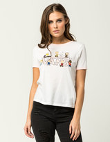 Vans x PEANUTS Dance Party Womens Ringer Tee