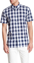 Ted Baker Gingham Trim Fit Shirt