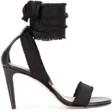 RED Valentino lace-up open sandals