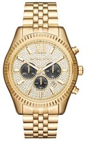 MICHAEL Michael Kors Women's 'Lexington' Chronograph Bracelet Watch, 44Mm