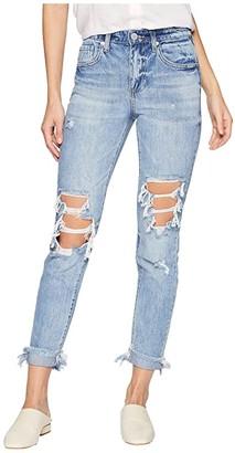 Blank NYC The Rivington Hi Rise Tapered Leg Denim Jeans in Jackpot (Jackpot) Women's Jeans