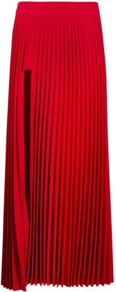 Vetements Long Pleated Skirt