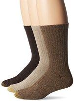 Gold Toe Men's Arch 360 Sierra Crew Socks (Pack of 3)