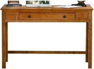 Loon Peak Glastonbury Solid Wood Desk Loon Peak Color: Unfinished