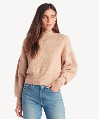 Astr Women's Regis Sweater In Color: Oatmeal Size XS From Sole Society