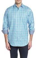 Bugatchi Classic Fit Gingham Check Sport Shirt