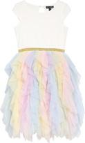 Ava & Yelly Ruffle Tutu Dress