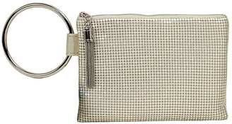 Whiting & Davis Chain Tassel Clutch Bag