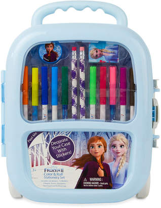 Frozen Color & Roll Stationary Set