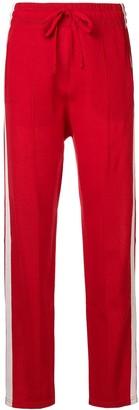 Etoile Isabel Marant Docia stripe-side sweatpants