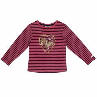 Salt&Pepper Salt and Pepper Girls' Horses The Best Pferdekopfe Pailletten Longsleeve T - Shirt
