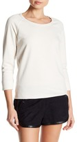 James Perse Rolled Hem Pullover