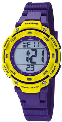 Calypso Unisex-Child Digital Quartz Watch with Plastic Strap K5669/8