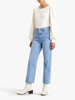 Levi's Ribcage Straight Ankle Jeans, Tango Gossip