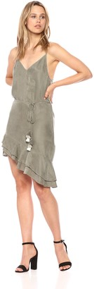 Young Fabulous & Broke Women's Orchard Dress Green Olive S