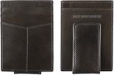 Johnston & Murphy Italian Leather Front Pocket Wallet