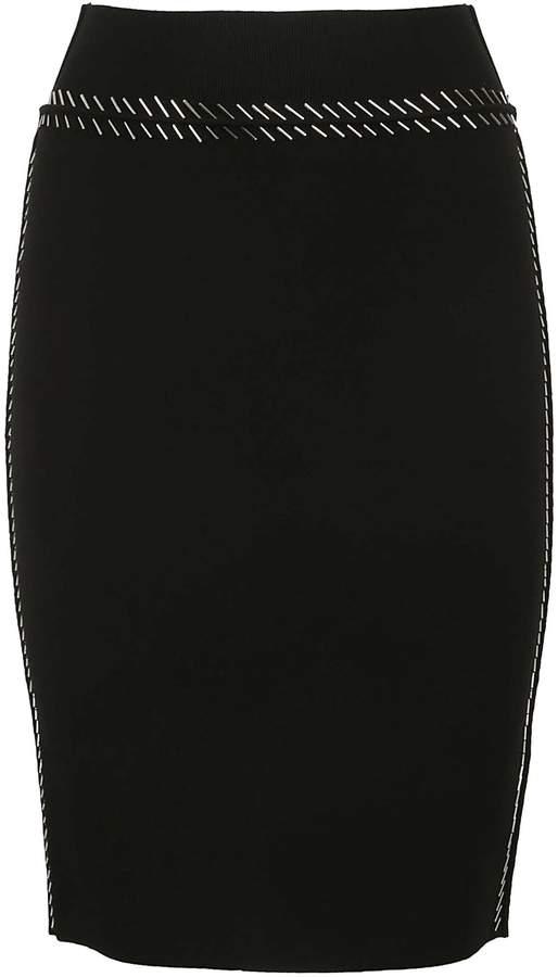 Alexander Wang Embellished Skirt