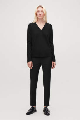 Cos SLIM TAILORED TROUSERS WITH ZIPS