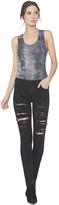 Alice + Olivia Jane Distressed 5 Pocket Skinny Jean